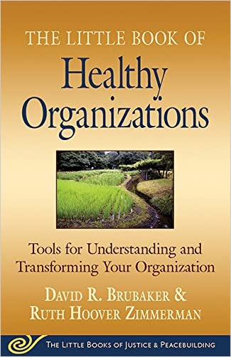 Little Book of Healthy Organizations: Tools For Understanding And Transforming Your Organization (The Little Books of Justice & Peacebuilding)