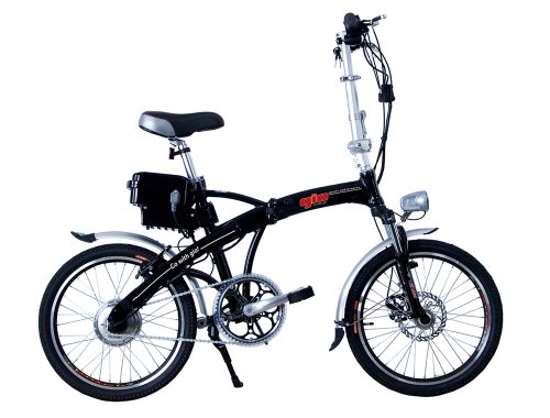 2013 GIO H2 Volt Lithium Battery Pedal Bicycle (Black)