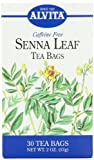 Alvita Tea Bags, Senna Leaf, 30 tea bags- Caffeine Free (Pack of 3)
