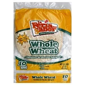 Amazon.com : La Fuerza Tortillas Flour Whole Wheat, 14.8