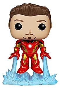 Funko POP Marvel: Avengers 2 Unmasked Iron Man Action Figure