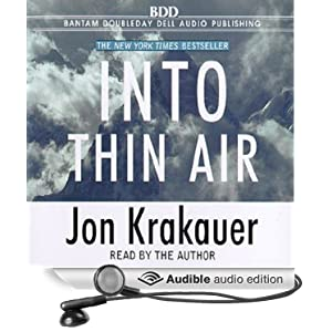 Into Thin Air Unabridged edition Jon Krakauer
