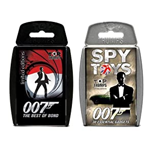 Top Trumps Combo Best of Bond & 007 Essential Spy Toys