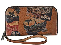 Patricia Nash Women\'s Biscay All Around World Traveler Clutch