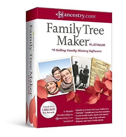 Family Tree Maker Platinum 2012