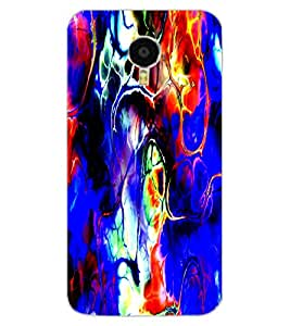 ColourCraft Abstract Image Design Back Case Cover for MEIZU BLUE CHARM NOTE 3