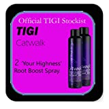 Tigi Catwalk - *Set of 2* 'Your Highness' Root Boost Spray For Lift and Texture - (255ml each).