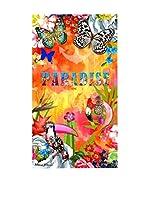 Melli Mello Toalla Playa Zaira (Multicolor/Naranja/Rosa)