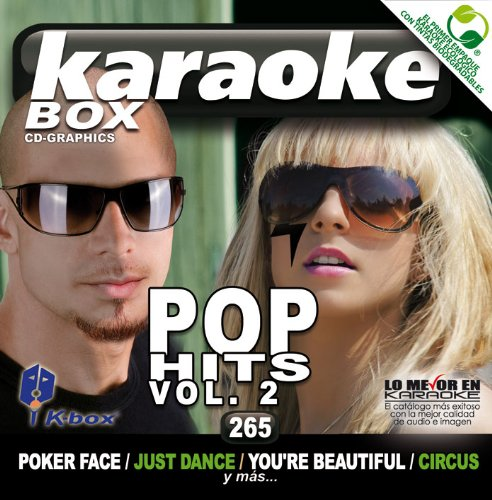 KBO-265 Pop Hits Vol. 2(Karaoke) by Katy Perry, Lady Gaga feat. O?Donis, Colby, Beyonce, Flo Rida Ft Kesha, James Blunt, Britney Spears, Coldplay, Pink, Britney Spears, Kelly Clarkson, Green Day Lady Gaga Ft Dudi Sharo