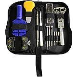 Kit portable de 13 outils répéartion montre réduction de taille de bracelet changement de pile & trousse à fermeture par Kurtzy TM