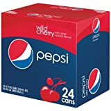 Pepsi Wild Cherry 12 oz. (355 mL) - 24 Pack