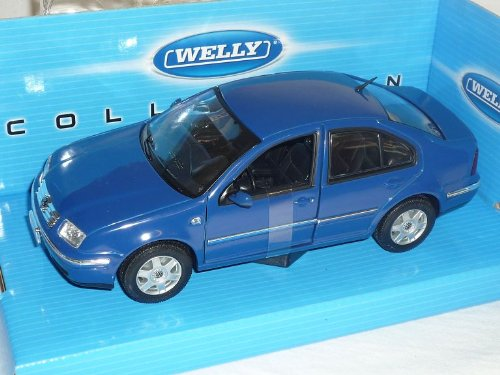 VW Volkswagen Bora Limousine Blau