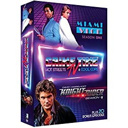 Crime Time TV - Miami Vice and Knight Rider TV Bundle