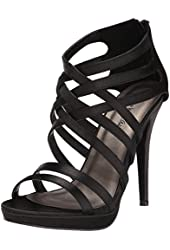 Michael Antonio Women's Thorstein Sat Dress Sandal
