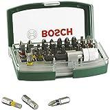 Bosch Schrauberbit-Set (32-teilig mit Farbcodierung) 2607017063
