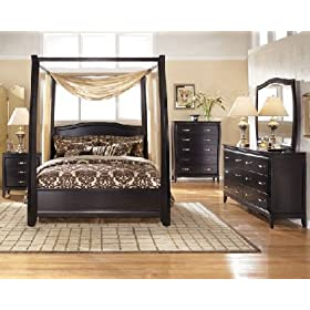 Averille Canopy Bedroom Set Wisconsin Bedroom Sets - 2