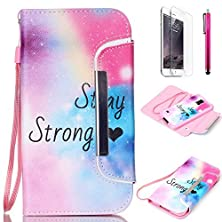 buy Galaxy S5 Case, Jcmax Colorful Foldable [Detachable] Pu Leather Wallet Case With [Card Slots][Magnetic][ Wrist Strap] For Samsung Galaxy S5 [Stay Strong]