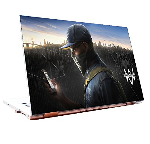Laptop Skins 15 6 Inch Watch Dogs 2 Gaming Skins Ps4 Hd