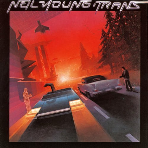Original album cover of Trans by Neil Young