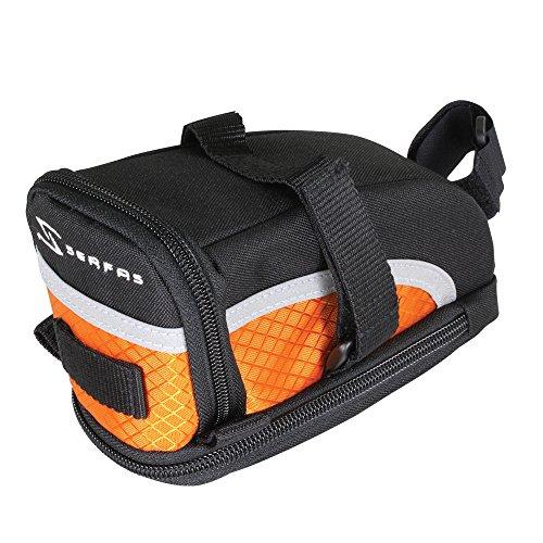 Serfas Speed Bag, Orange, Medium front-595854
