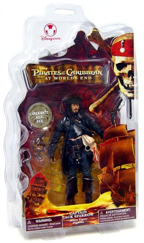 Buy Low Price Disney Pirates of the Caribbean At World's End Disney Exclusive Action Figure Captain Jack Sparrow (B000QU3Z2E)