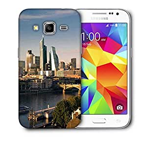 Snoogg Lake Side Buildings Printed Protective Phone Back Case Cover For Samsung Galaxy CORE PRIME
