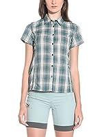 Salewa Camisa Mujer Renon Dry W (Gris / Verde / Blanco)