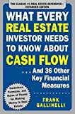 img - for What Every Real Estate Investor Needs to Know About Cash Flow... And 36 Other Key Financial Measures, Updated Edition by Gallinelli, Frank (November 20, 2015) Paperback book / textbook / text book
