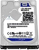 WD Blue 1TB  Mobile Hard Disk Drive - 5400 RPM SATA 6 Gb/s 64MB Cache 9.5 MM 2.5 Inch  - WD10J31X