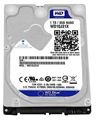WD SSHD 内蔵ハードディスク 2.5インチ 1TB Blue WD10J31X / 8GB MLC / SATA3.0