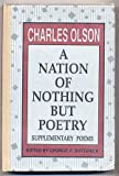 img - for A Nation of Nothing but Poetry: Supplementary Poems book / textbook / text book