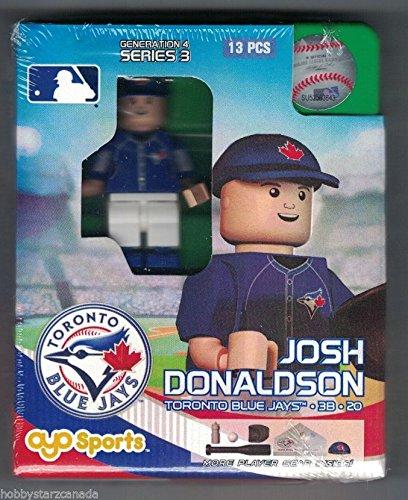 MLB Toronto Blue Jays Josh Donaldson Generation 4 Mini Figure, Small, Black (Josh Donaldson Blue Jays compare prices)