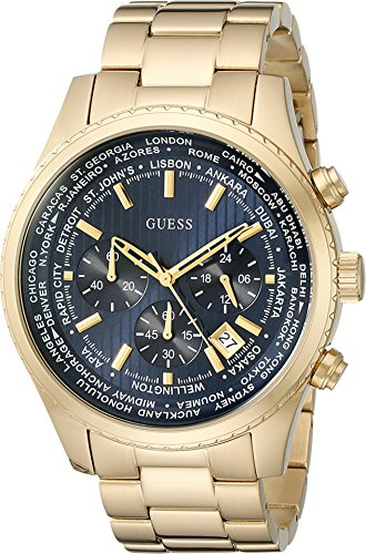 guess-mens-u0602g1-dressy-gold-tone-stainless-steel-multi-function-watch-with-chronograph-dial-and-d