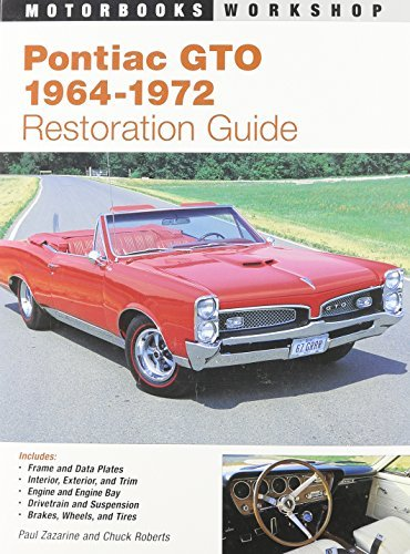 pontiac-gto-restoration-guide-1964-1972-motorbooks-workshop-by-paul-zazarine-1995-05-07