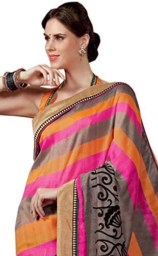 Sudarshan Raw Silk Saree (SUT10320VIPUL_Multicolor)