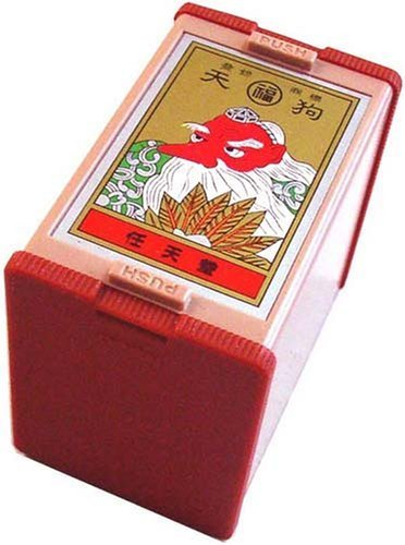 Nintendo Japanese Playing Cards Game Set Hanafuda Tengu Red by Nintendo