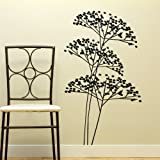 Bush tree branch giant wall art sticker modern home vinyl stencil mural new x10