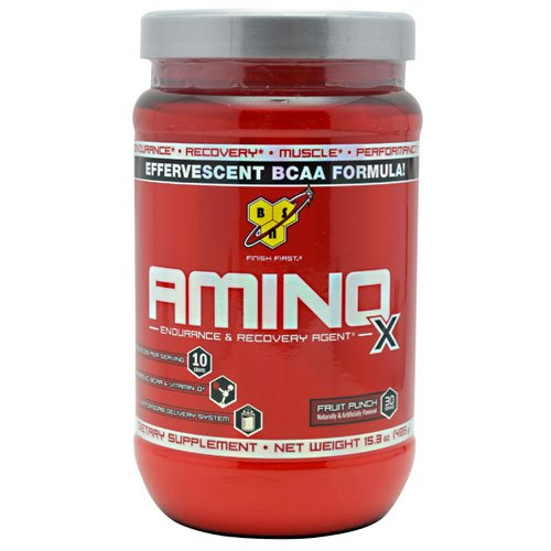 Amino Acids Supplements 30 Servings BSN Amino X Fruit Punch