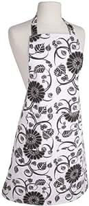 Now Designs Basic Apron, Annabella White and Black