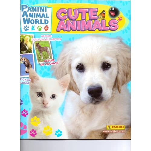 Cute Animals Sticker Album (Panini Animal World): Panini: Amazon.com