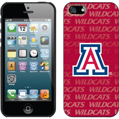 Great Sale University of Arizona Repeating design on a Black iPhone 5s / 5 Thinshield Snap-On Case by Coveroo