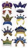 EK Success Brands Jolee's Boutique Decorative Stickers, Fun Crowns Dress Ups