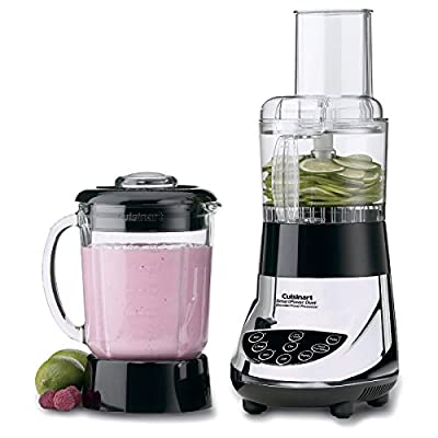 BFP-703CH SmartPower Duet Blender & Food Processor Glass Jar Chrome