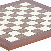 """Astor Place Chess/Checkers Board From Spain - Squares 1 3/4"""" from Bello Games New York, Inc."""