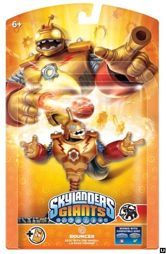 Skylanders Giants - Giant Character Pack - Bouncer - Wii/PS3/Xbox 360/3DS/Wii U (Figure)