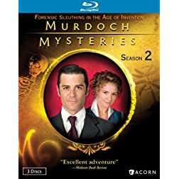 Murdoch Mysteries: Season 2 [Blu-ray]