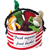 100% Organic Cotton Stuffed Multi Fruit Tote