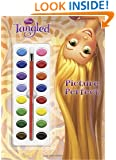 Picture Perfect (Disney Tangled) (Deluxe Paint Box Book)