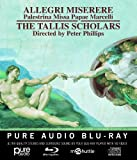 The Tallis Scholars Allegri: Miserere [The Tallis Scholars] [Gimell: GIMBD641] [Pure Audio Blu-Ray]