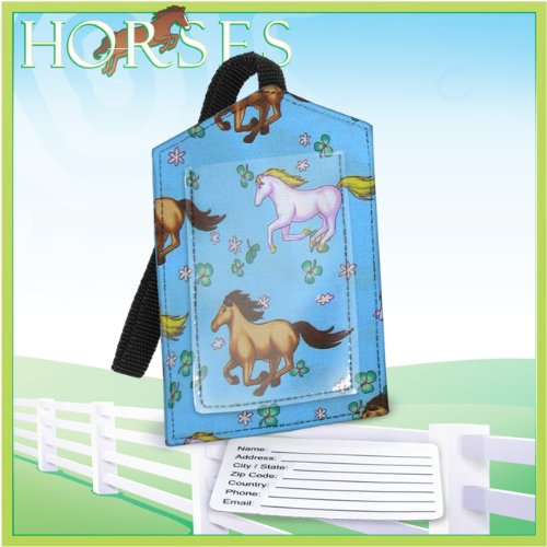 Fantasy Horse HORSES Luggage Tag Travel Accessories- Gifts and Gift Ideas For GRADUATION Him Her Men Man Women Ladies Alumni, Students, Fans, Travelers Teachers High Quality